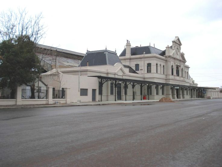 Train station in Bahia Blanca. Buenos Aires. Argentina