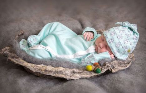 Forest Fox Sleepsuit from Baby Acorn at Little Whispers