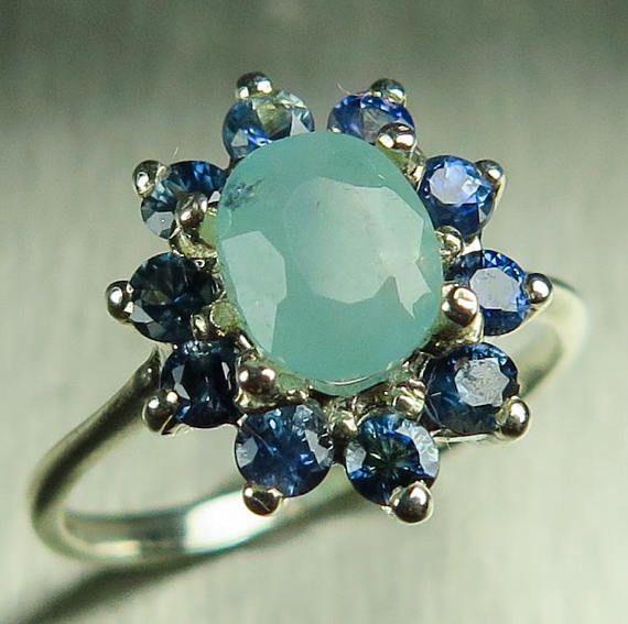15 best Grandidierite images on Pinterest | Gemstones ... Grandidierite Engagement Ring