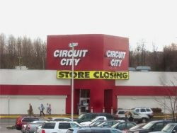 The Circuit City spot, closed at the end of 2009, held a Safeway until the mid-1990s.