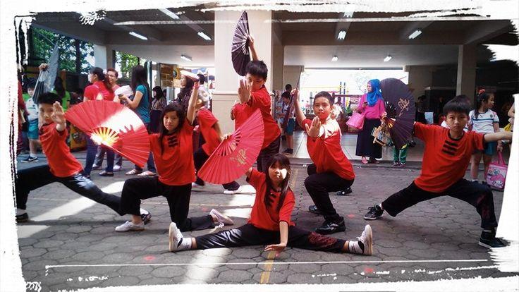 Wushu kids pose! SDK 3 Bina Bakti Bandung