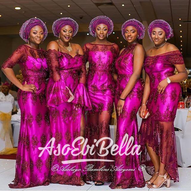 AsoEbiBella presents – The Latest Aso Ebi Styles -Vol. 195.        @buxsmac_
