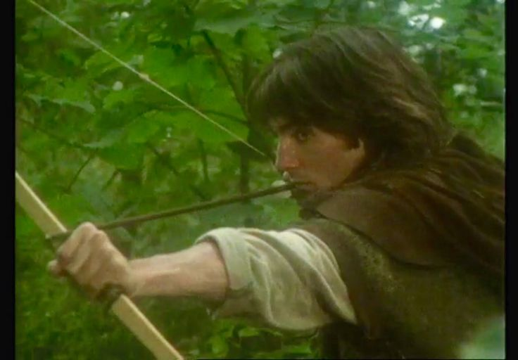 Michael Praed as Robin in 'The King's Fool'.