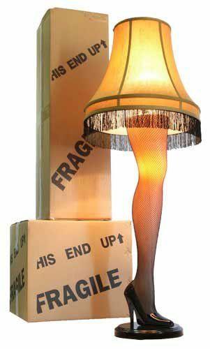 "A Christmas Story Full Size 45"" Leg Lamp"