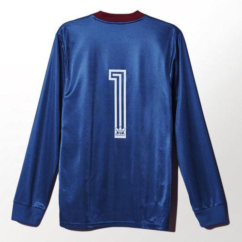 adidas - Camiseta Palmeiras Retrô Goleiro Uniforme relembra a atuação do atacante Gaúcho, que virou goleiro após uma lesão de Zetti em jogo contra o Flamengo, em 1988, e defendeu dois pênaltis.