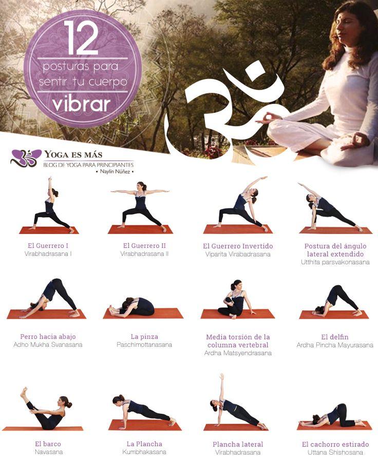 12 posturas de yoga para sentir tu cuerpo y un texto para que leas que no te dejará indiferente.