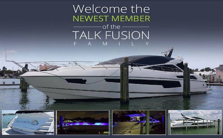 Welcome the newest member of Talk Fusion family. Join us: http://1264889.jointalkfusion.com/default.asp