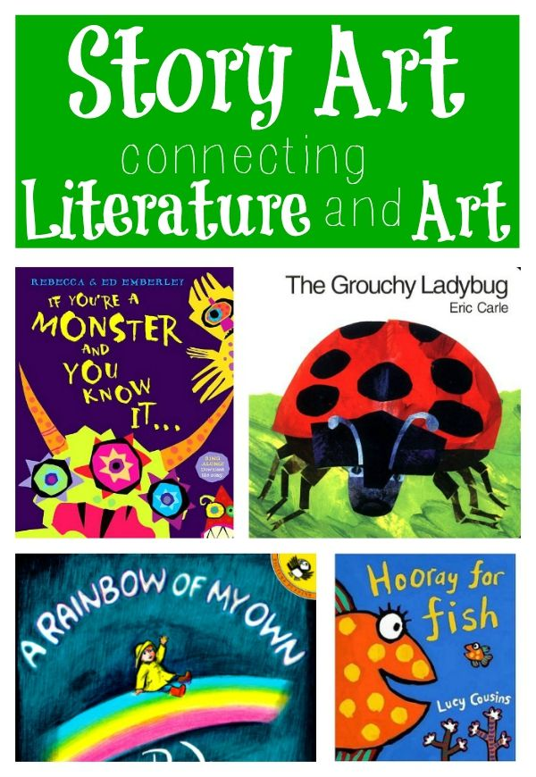 Story Art: Connecting Art and Literature with art projects inspired by picture books