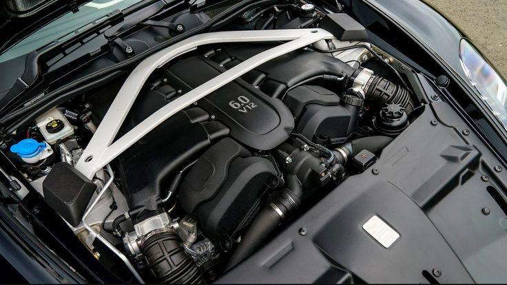 2018 Aston Martin Vanquish S Volante Engine Transmission