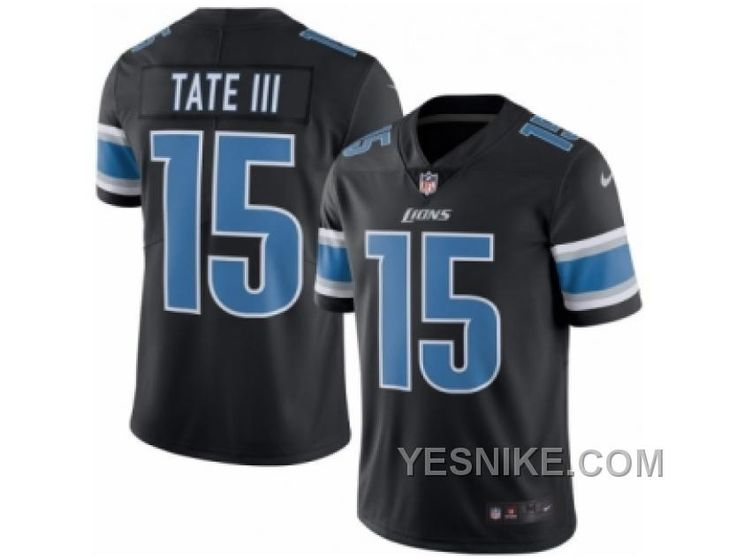 http://www.yesnike.com/big-discount-66-off-mens-nike-detroit-lions-15-golden-tate-iii-limited-black-rush-nfl-jersey.html BIG DISCOUNT ! 66% OFF ! MEN'S NIKE DETROIT LIONS #15 GOLDEN TATE III LIMITED BLACK RUSH NFL JERSEY Only $26.00 , Free Shipping!