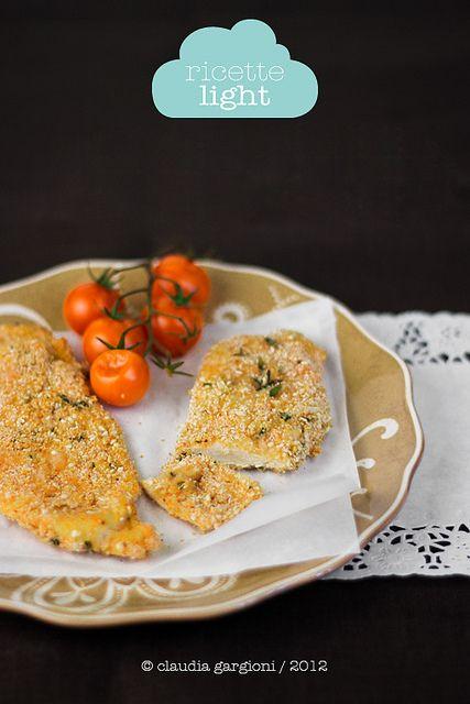 cotolette di pollo al forno by il gatto goloso, via Flickr
