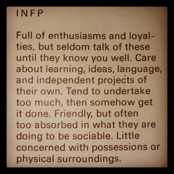 infp | infp | Quotes for living by...