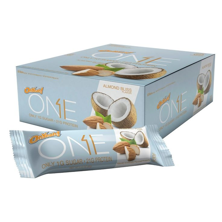 Oh Yeah! One Almond Bliss Protein Bar - 12 Count