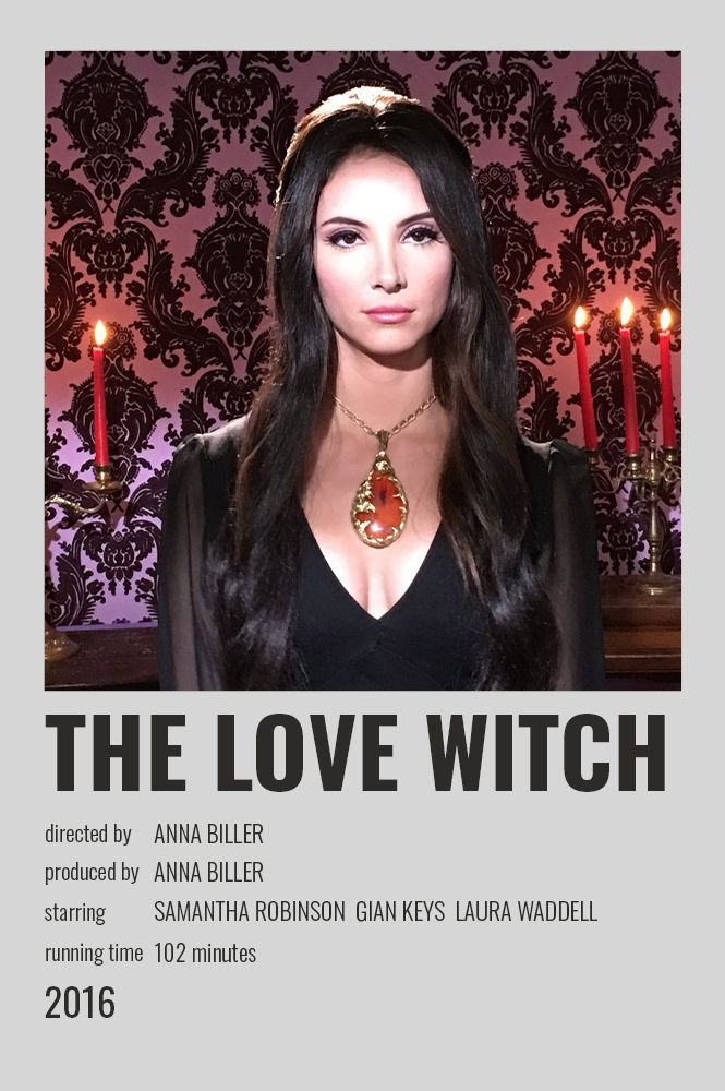 The Love Witch Polaroid Poster In 2020 Movie Poster Wall Minimalist Poster Movies