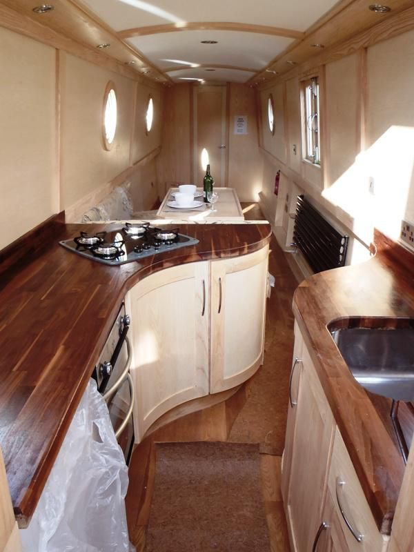 17 best images about design ideas for narrowboat on pinterest boats white ceramics and Ship galley kitchen design