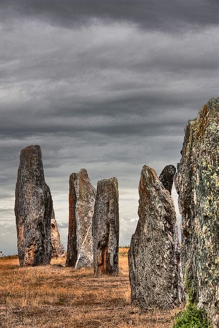 Menhirs in Brittany