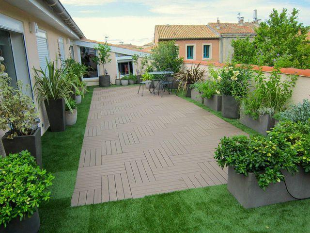 17 meilleures id es propos de avant apr s terrasse sur pinterest terrasse avant apr s - Terrasse et jardin en ville montpellier ...