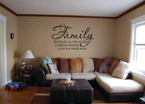 Superb Family Like Branches On A Tree Vinyl Decal   Wall Saying   Vinyl Lettering Awesome Design