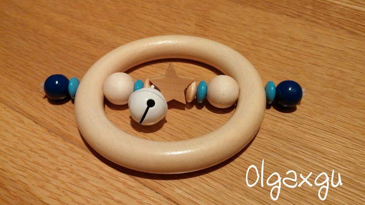 Sonajero de madera  de Olgaxgu Hecho a mano por DaWanda.com