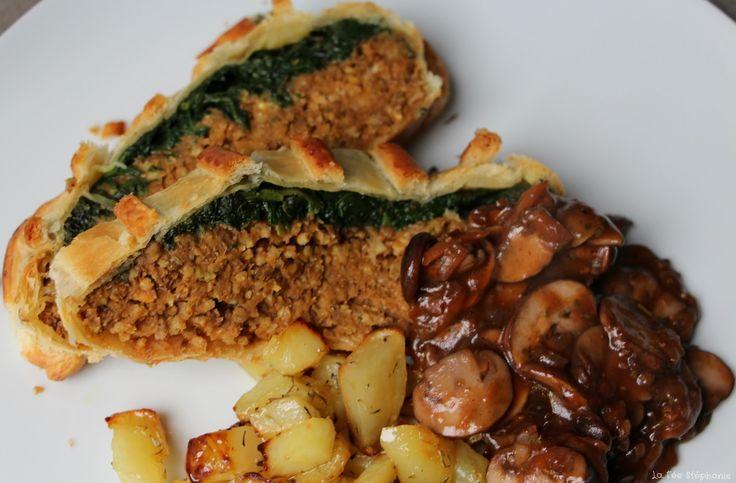 """Pain de """"viande"""" en croute aux lentilles et millet   lafeestephanie.blogspot.fr"""