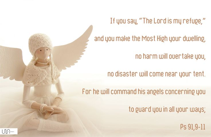 Bible psalm 91 Angel quote from the bible, quotation