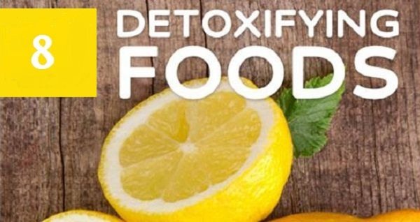Foods for Detoxing and 5 Times Faster Weight Loss