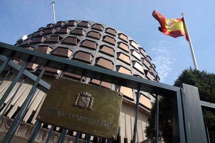 El Tribunal Constitucional  suspende el pleno del Parlamento catalán del lunes