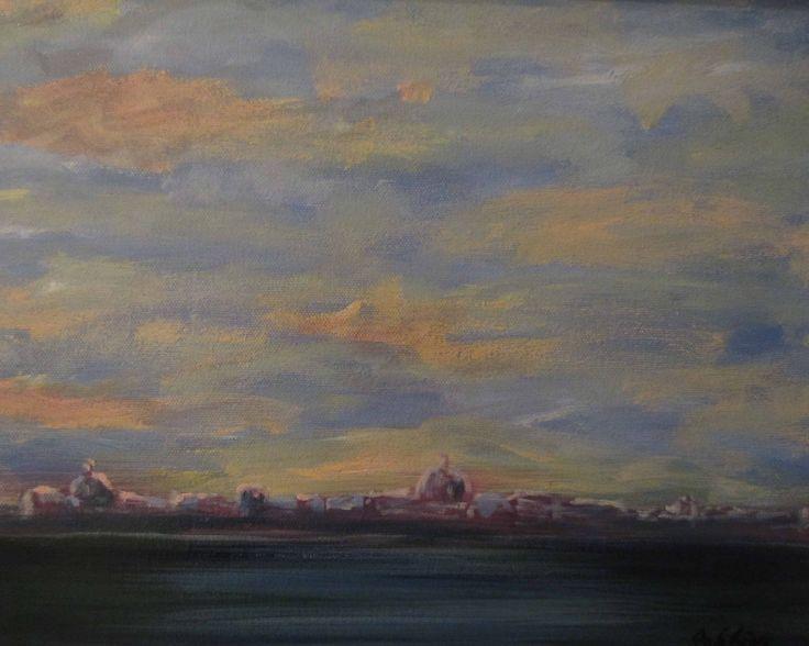 London – oil on canvas