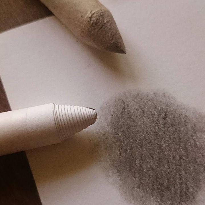 تعليم الرسم كيف تصنع قلم دمج الرصاص بنفسك في المنزل رسم رصاص مدعكه قلم دمج Art Makeup Stick
