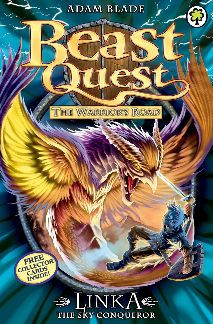 Beast Quest: Linka the Sky Conqueror  By Adam Blade  Join Tom on a high-action adventure with terrible Beasts and deadly danger!