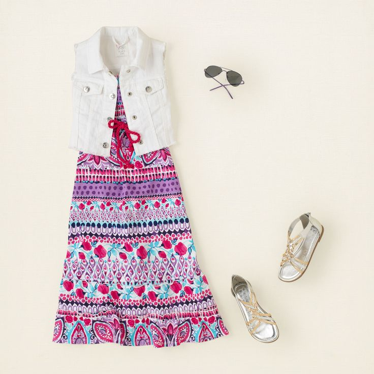 Mother's Day 2013 | The Children's Place #outfits #maxidress