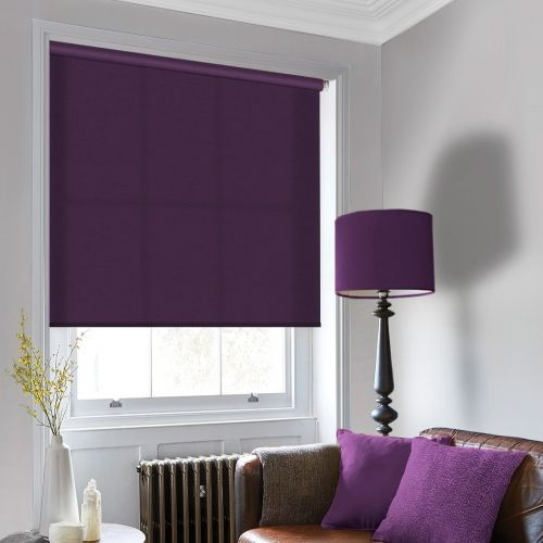 Luxury Port Purple Roller Blind