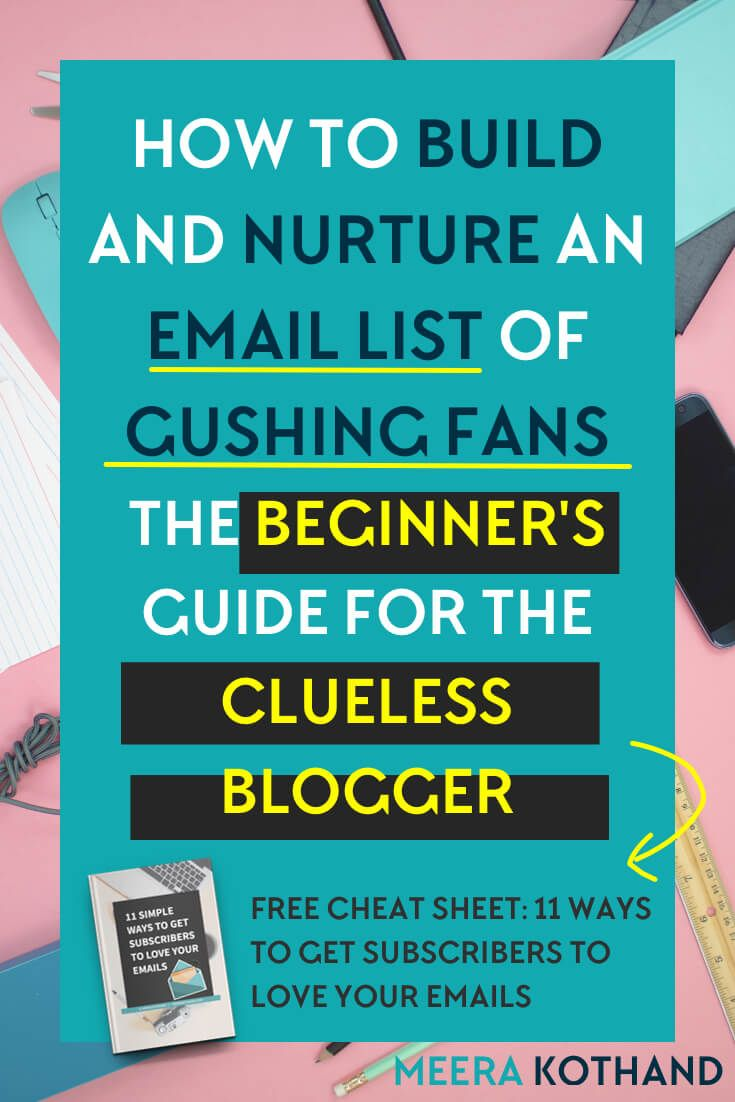 Thinking of building your email list? Need a step by step strategy guide with ideas and tips on how to grow your list, get subscribers and nurture them? In this post I walk you through how to get started with your email list from scratch. Look out for an alert just above step #6 where most people fall off the email bandwagon. via @meerakothand