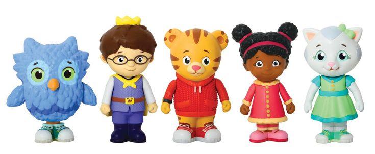 AmazonSmile: Daniel Tiger's Neighborhood Friends Figures Set: Toys & Games