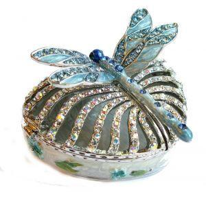 Faberge jewelry box Dragonfly