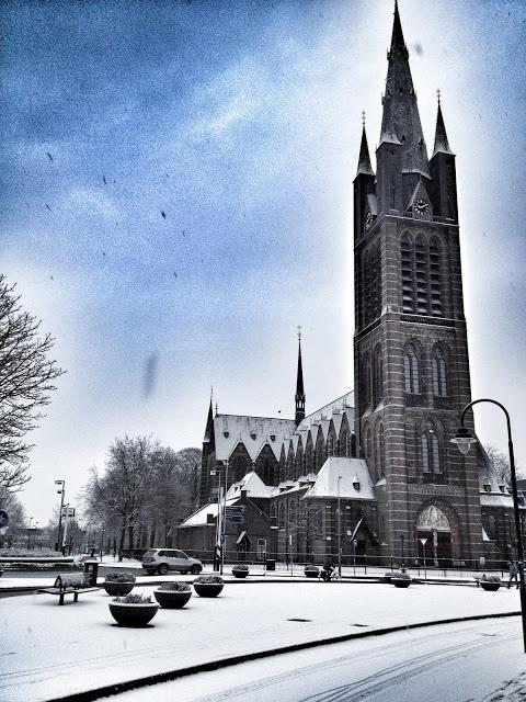 Church in Hilversum The Netherlands.