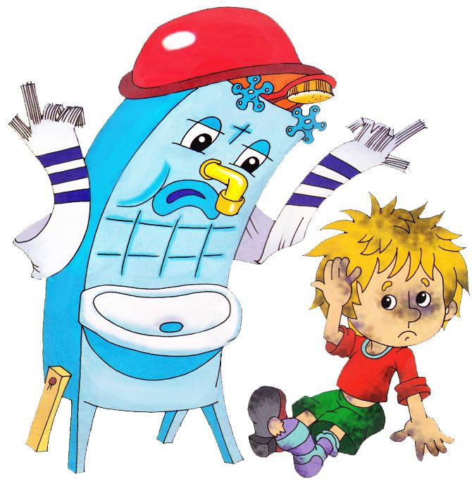 Детские картинки чистюли