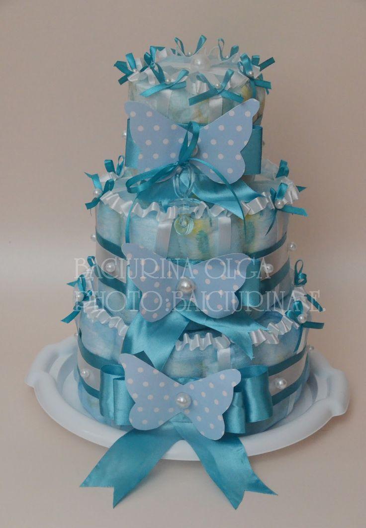 торт из памперсов - Самое интересное в блогах
