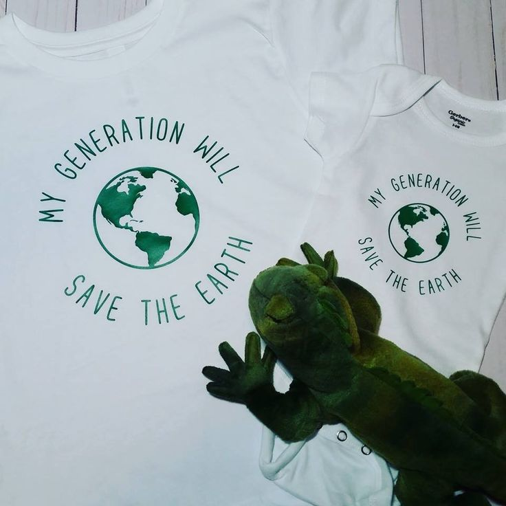 My Generation Will Save The Earth Toddler Shirt Organic