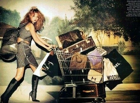 Today is just perfect for doing my shopping.