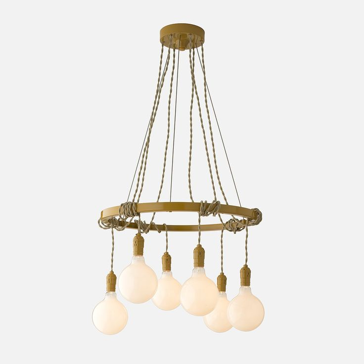 Tangled chandelier marigold but in black