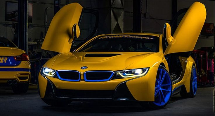 Colorful Modified BMW i8 By Turner Motorsport Is Up For Sale