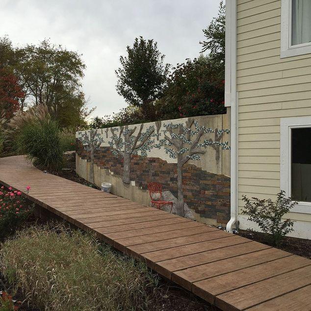 82 best dock walkway images on pinterest composite for Wooden walkway plans