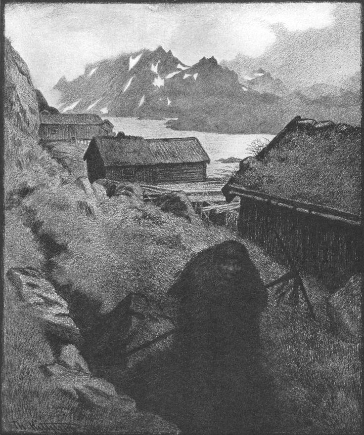 Theodor Severin Kittelsen - Hun Farer Landet Rundt