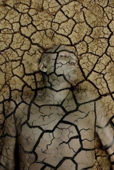 breaking soil
