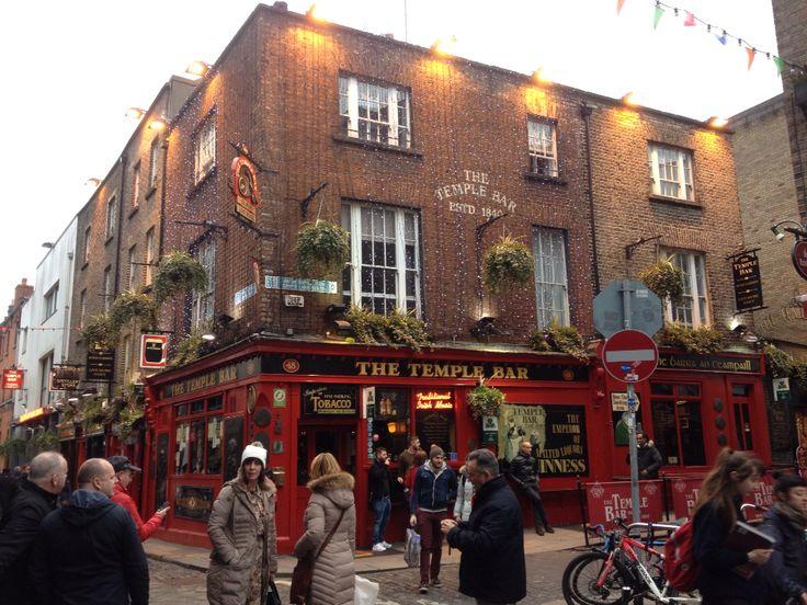 The Temple Bar. Dublin 10/02/16