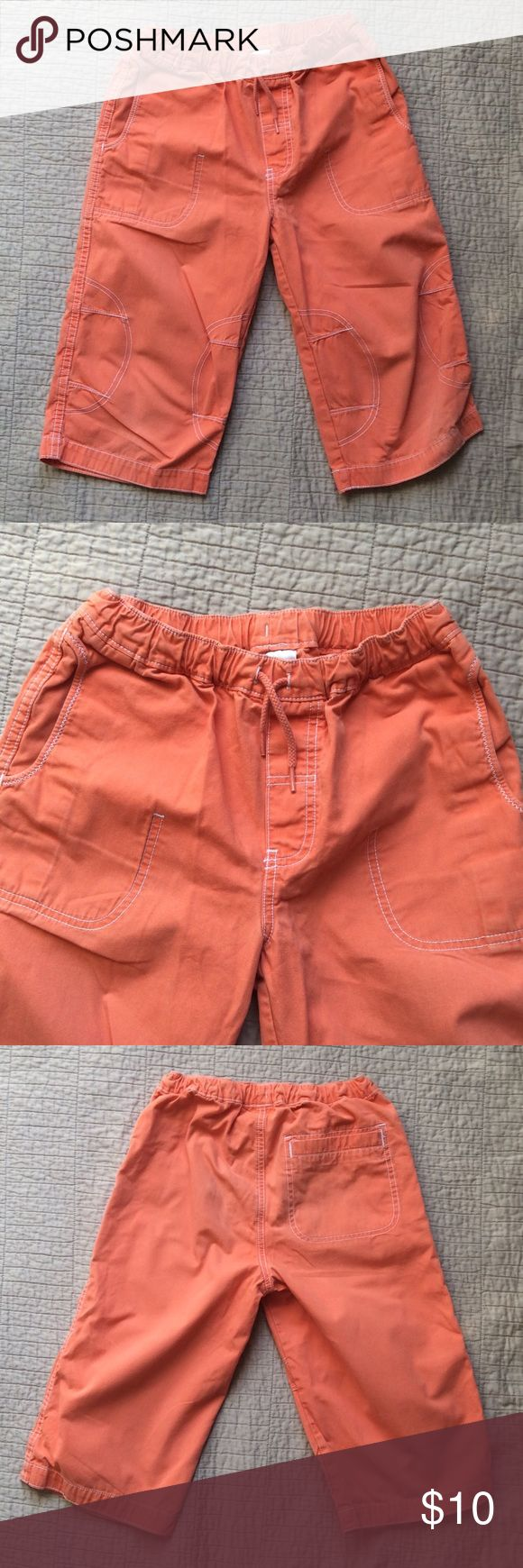 Hans Andersson classic Great cotton pants, size 140 (10-12), with drawstring waist! Hanna Andersson Bottoms