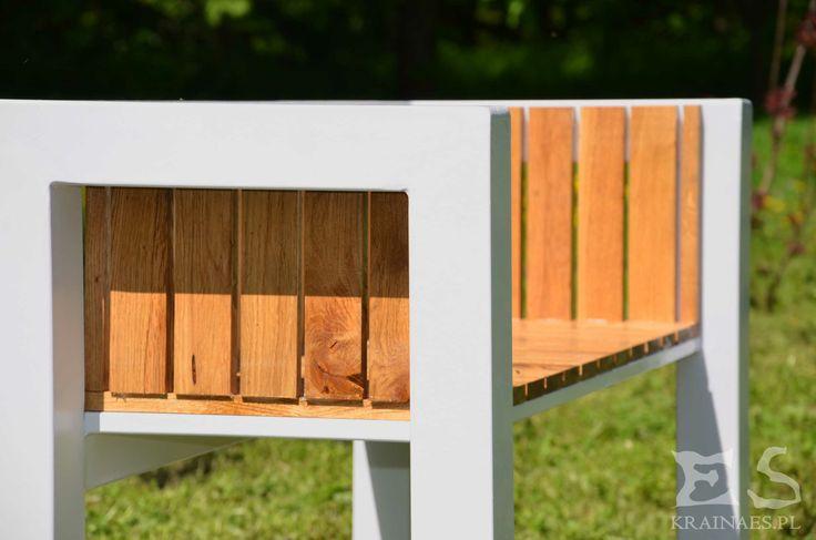 Bench, ława, ławka, iron, wood, Jack S, industrial, Kraina ES #bench, #minimalistbench, #minimalistfurniture, #ławka