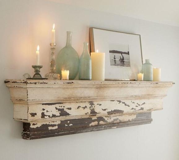 Beautiful distressed wood