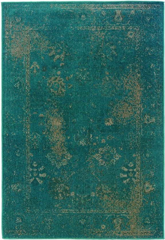 Sphinx by Oriental Weavers - Sphinx By Oriental Weavers Revival 3690d Teal Area Rug #110304